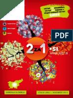 """2za1.si, jun 2014 - nov 2014 - knjiga kuponov """"dva za ena"""""""