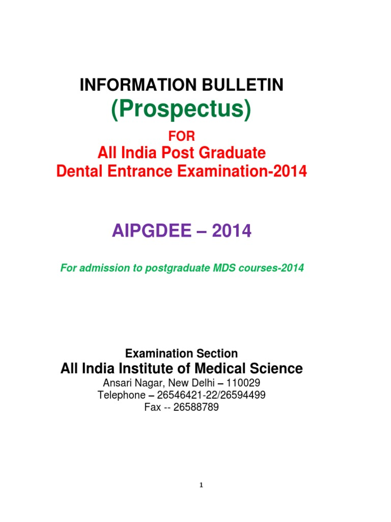 Prospectusneetmds2014revised1 dental degree university and prospectusneetmds2014revised1 dental degree university and college admission aiddatafo Images