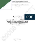 Norme de Timp CNGCFT 2008