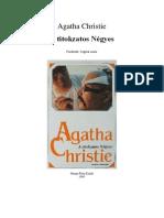 Agatha Christie - A Titokzatos Negyes