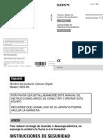 Manual de Instrucciones NEX-5N