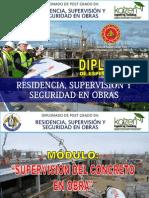 Módulo - Supervisión de Concreto en Obras