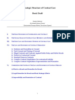 Strategic Structure Contract Law