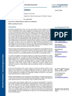 Capital Investments Asset Management June 5 2014 Monthly Newsletter