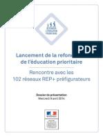 2014 Educationprioritaire Lancement Dpresse Bdef 313877