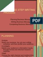 Ppt-The Three Step Writing Process