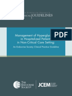 FINAL Standalone Management of Hyperglycemia Guideline 2012