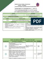 1° PLANEACIÓN POR SECUENCIA,BLOQUE 5,  SECUENCIA 14 ESPAÑOL I