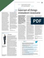 Internet of Things Stimuleert Innovatie_Cobouw 15-04-2014