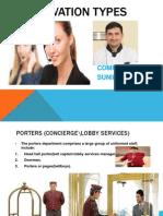 Reservation&Room Selling Procedures