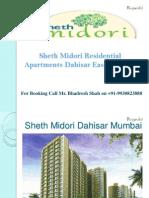 Seth Midori Prelaunch Project in Dahisar East Mumbai