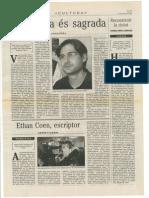 """Ressenya de """"La culpa"""" de Josep Porcar per Lluís Roda"""