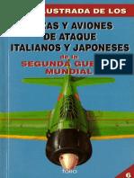 (1995) (Guía Ilustrada de Los No.6) Cazas y Aviones de Ataque Italianos y Japoneses de la Segunda Guerra Mundial