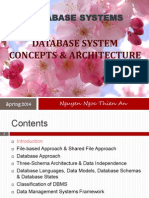 1 Database System Concepts Architecture