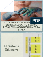 02tema 1.1ei Sist Educativo y Marco Legal Etapa