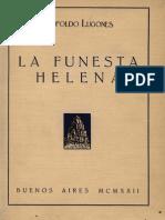 Leopoldo Lugonés - Estudios Helénicos I - La Progenie Homérica (1923) (Faltan 34,35,50,51,60,61)