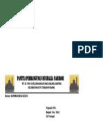 Kop Surat Panitia Pembangunan Mushalla Namiroh
