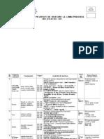 Planificare Limba Franceza Unitati de Inv Clasa a III A