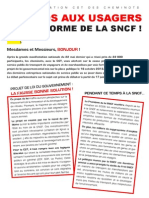 Tract Aux Usagers