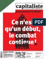 L'Anticapitaliste (L'hebdomadaire du NPA, n°240)
