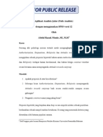 Aplikasi Analisis Jalur Dgn SPSS