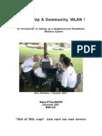 Lets Set Up a Community Wlan