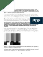 Fundaments of video signals
