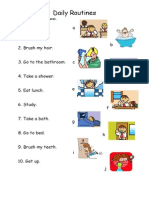 Islcollective Worksheets Beginner Prea1 Elementary a1 Elementary School Reading Da My Routines Easy 1 24474509cbd0e4ecac7 18657631