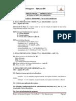 Roteiro de Estudo Dirigido - Direito Penal II