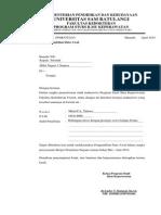 Surat Ijin Pengambilan Data Awal Ine