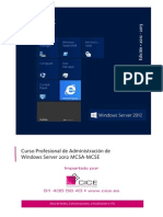 Curso Profesional de Administracion de Windows Server 2012 Mcsa Mcse