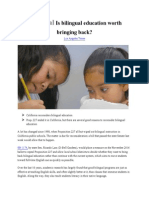 editorial-bilingual education