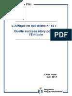 Quelle success story pour l'Éthiopie? Par Clélie Nallet.