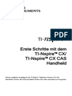 TI-Nspire CX-HH GettingStarted De