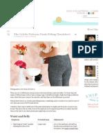 Patterns Pants Fitting Cheatsheet