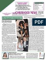 Historic Old Northeast Neighborhood Association Quarterly Newsletter
