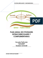 actividades extracurriculares QUILMER