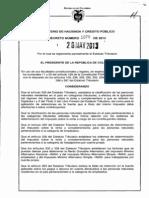 Decreto 1070 2013 Reglamentario Del Estatuto Tributario