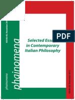 Contemporary Italian Philosophy.pdf