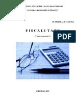 Curs Rezumativ Fiscalitate