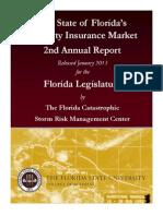 2nd Annual Insurance Market Rpt-FSU Storm Risk Center