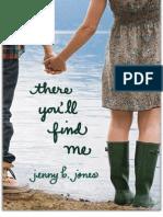 Jenny B. Jones - Lá Você Vai Encontrar-me