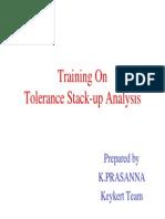 Tolerance Stack-up Analysis