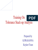 Tolerance Stack-up Analysis