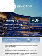 Bootstrapping - An Alternative to Funding