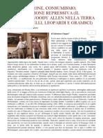 Woody Allen_Mercificazione, Consumismo, ... in Italia