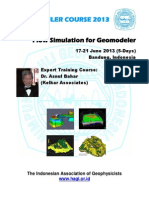 FLYER Flow Simulation for Geomodeler Asnul Bahar