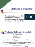 Analiz Stat a Producţiei, stat micro