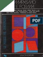 Fredric Jameson Marxismo e Forma Teorie Dialettiche Della Letteratura Nel XX Secolo 1975