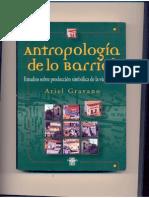 Etnografia de lo Barrial